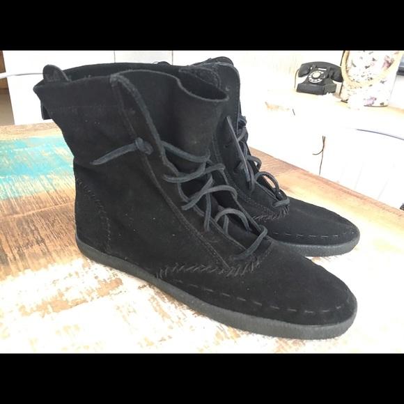 Keds Shoes   Keds Black Ankle Boot